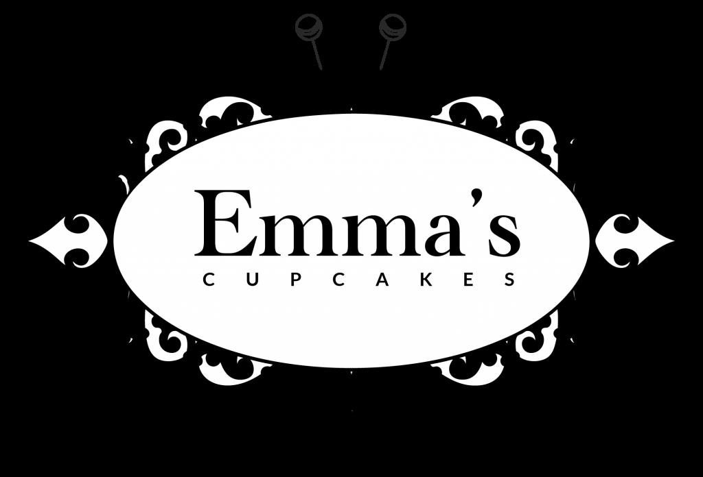 Emma's Cupcakes Nice popcakes cupcakes cakes logo-noir