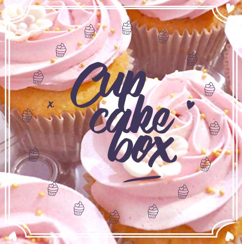Box Cupcakes - Emma's Cupcakes - Nice