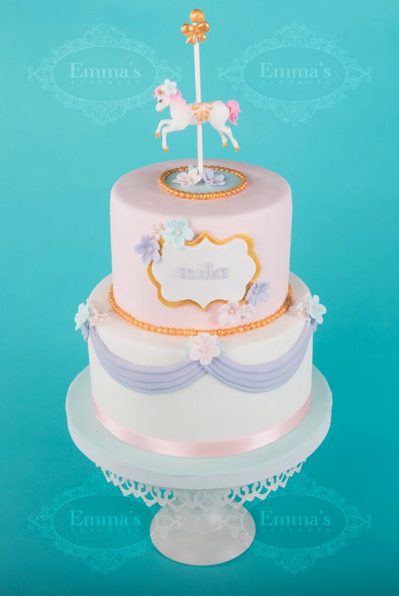 Cake Carrousel - Emma's Cupcakes - Nice