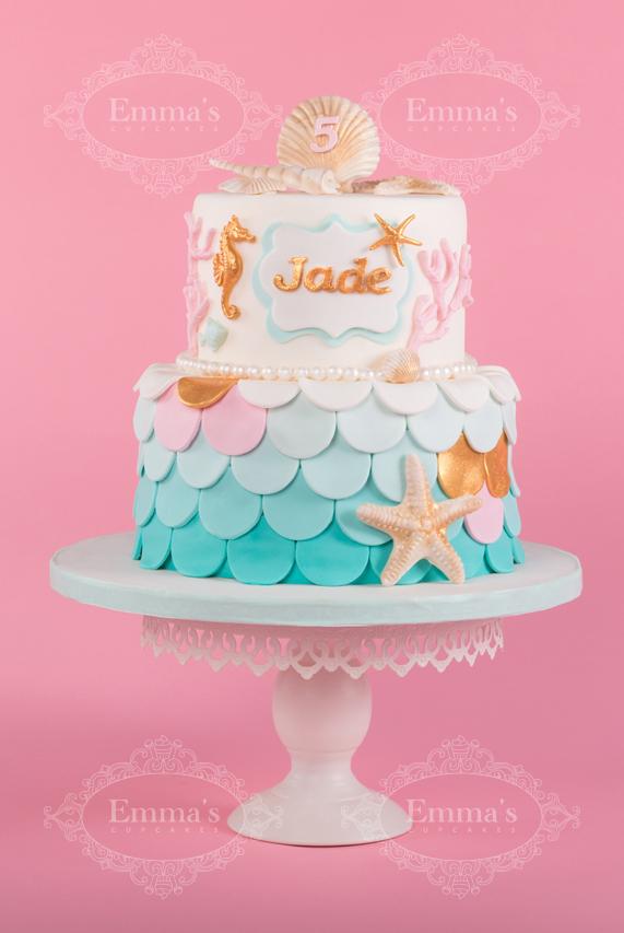 Cake Mermaid - Emma's Cupcakes - Nice