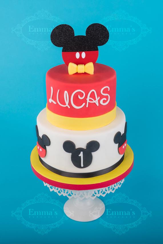 Cake Mickey - Emma's Cupcakes - Nice