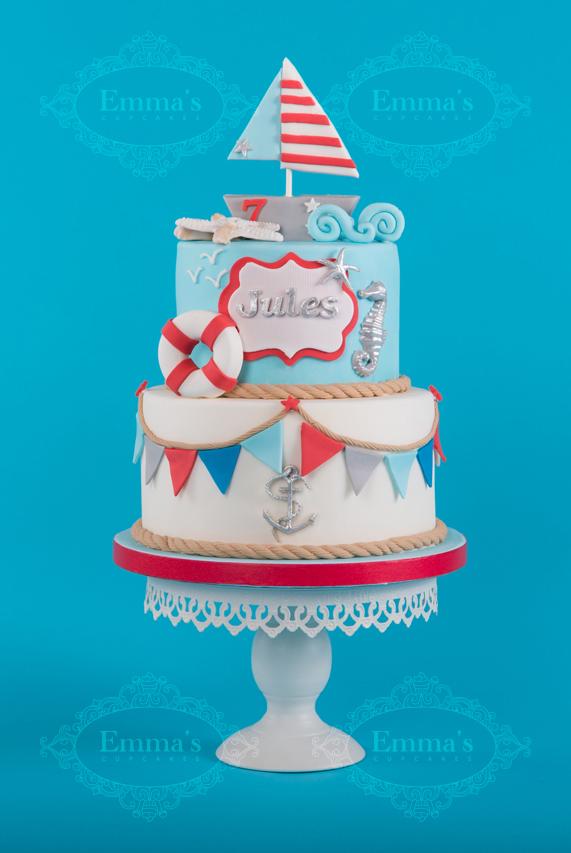 Cake Nautic - Emma's Cupcakes - Nice