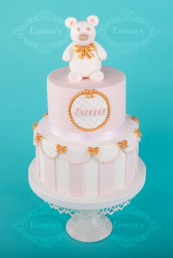 Cake Nounours Pink - Emma's Cupcakes - Nice