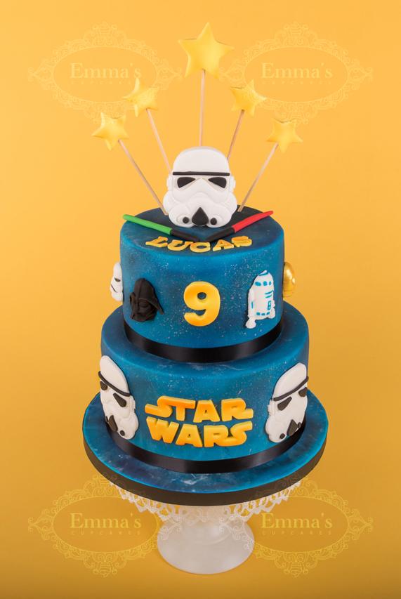 Cake Star Wars - Emma's Cupcakes - Nice
