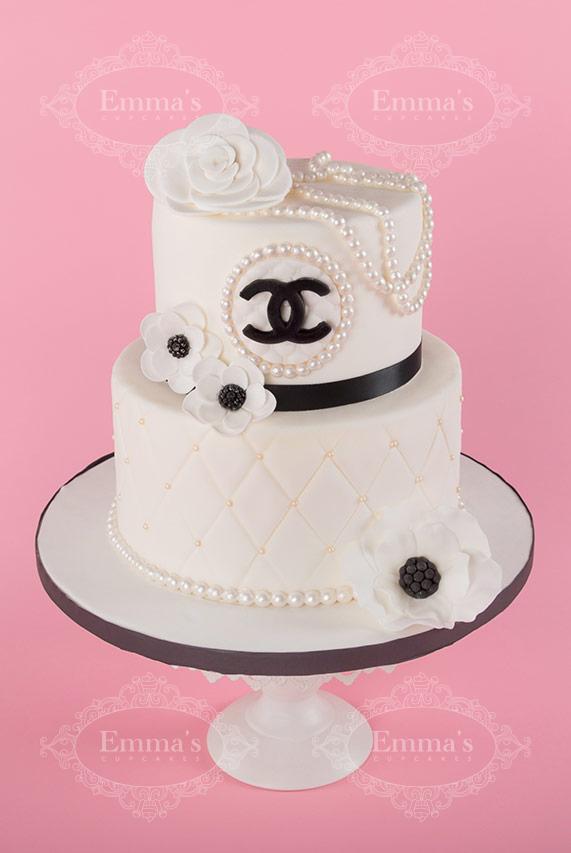 Cake Chanel - Emma's Cupcakes - Nice