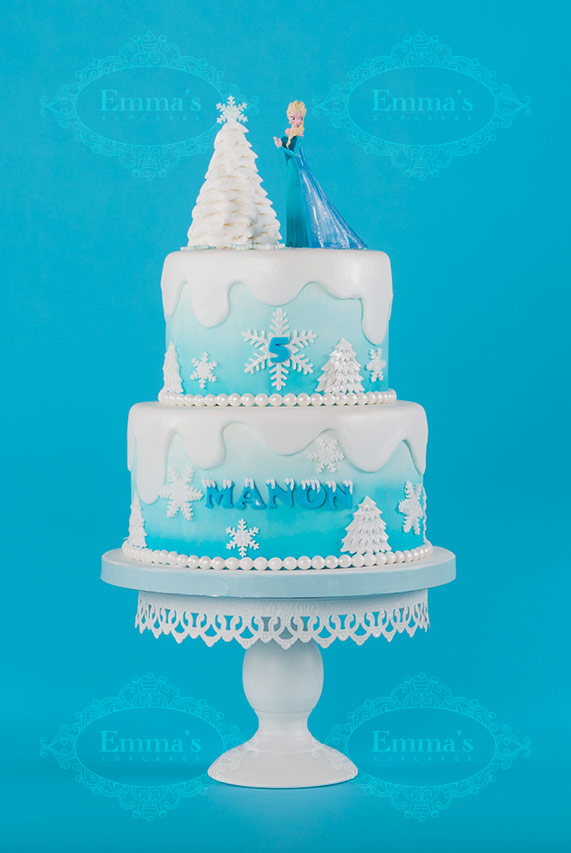 Cake Frozen - Emma's Cupcakes - Nice
