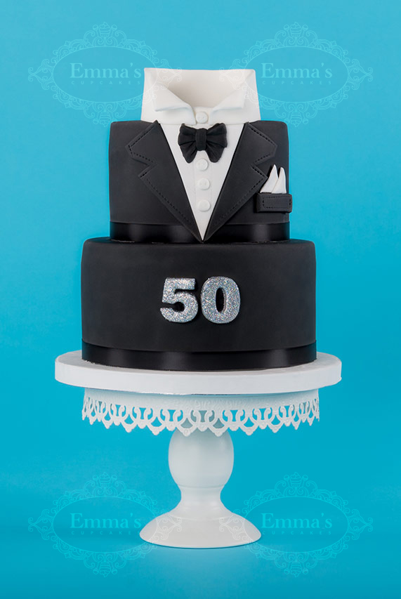 Cake L'homme chic - Emma's Cupcakes - Nice