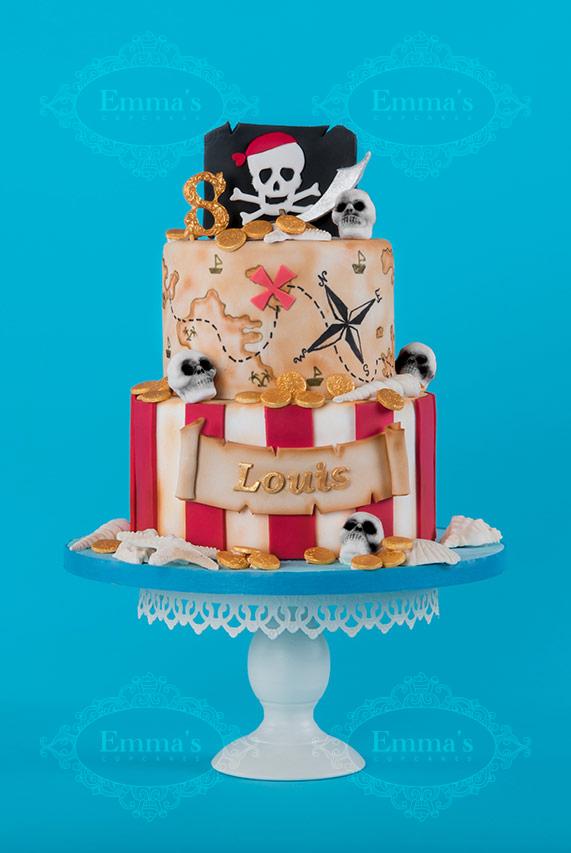 Cake Pirate - Emma's Cupcakes - Nice