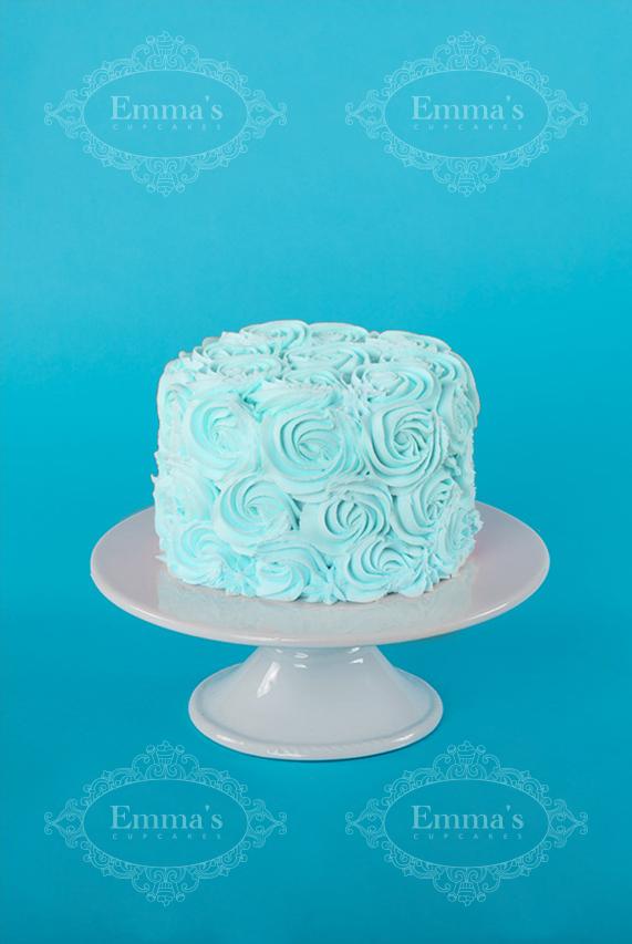Darling Cake Blue Emma S Cupcakes