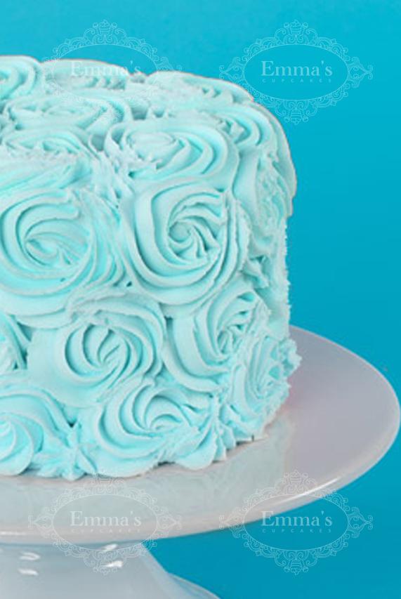 Darling Cake Blue - Emma's Cupcakes - Nice